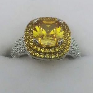 Gorgeous citrine ring!